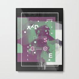 S E X X G O D  II Metal Print