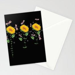 Massachusetts Northampton Sunflower hope love Gifts For Men Women Stationery Cards