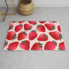 Strawberrilicious Pattern Rug