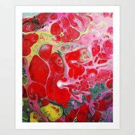 Love's Groove Art Print