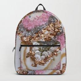 Geode Art Pink Backpack