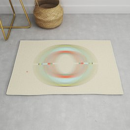 Magnetic Fields (Etude Circulaire n° 5) Rug