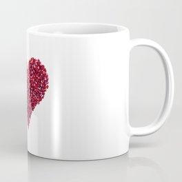 Pomegranate Heart Coffee Mug