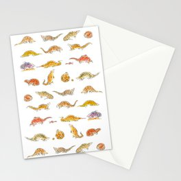 Pangolins Stationery Cards