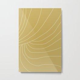 abstract viii - lines Metal Print