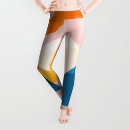 Abstraction_Lake_Sunset_Minimalism_002 Leggings