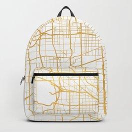 CHICAGO ILLINOIS CITY STREET MAP ART Backpack