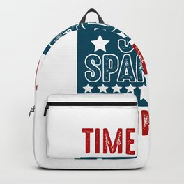 Time To Get Star Spangled Hammered - Independence Day Gift Backpack