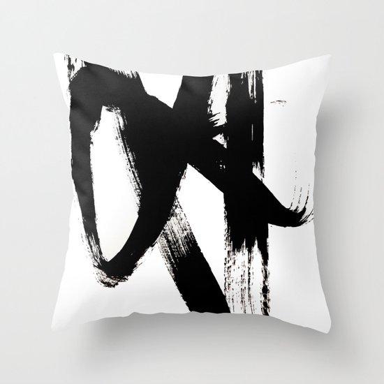 Brushstroke 2 - simple black and white by blushingbrushstudio