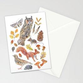 Autumn Wildlife Stationery Cards