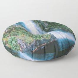 Milford Sound, New Zealand Floor Pillow