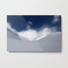 White Mountain Winter Metal Print