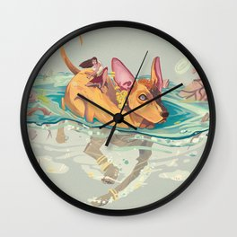 Xolotl Wall Clock