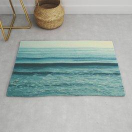 Beach Waves photo. Somewhere Rug