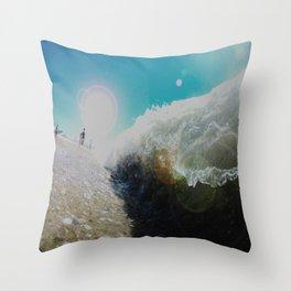 Sand Sucker Throw Pillow