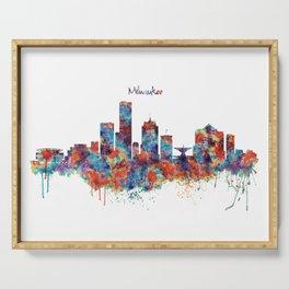 Milwaukee Skyline Serving Tray
