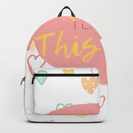 I love you this much! Backpack