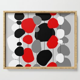 Hanging By A Thread - Abstract Serving Tray