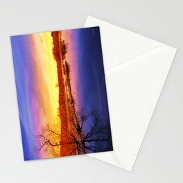 Tranquil Sunset Landscape Stationery Cards