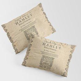 Shakespeare, Hamlet 1603 Pillow Sham