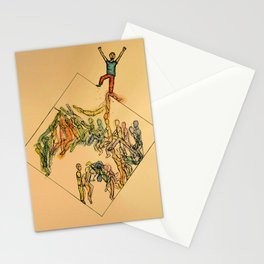 Parkour Magic Stationery Cards