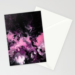 Korean Black Pink Art Stationery Cards