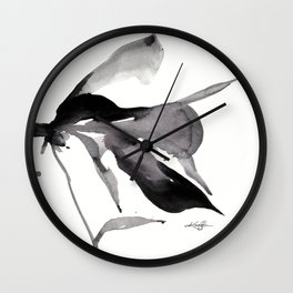 Organic Relections No. 10 by Kathy Morton Stanion Wall Clock