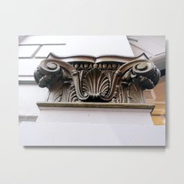 Archtiectural Detail in London Metal Print
