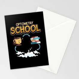 Optometry Visual Function Eyes Saying Gift Stationery Cards