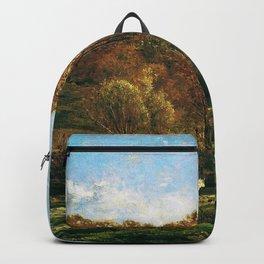 Charles-Francois Daubigny - Autumn Landscape - Digital Remastered Edition Backpack