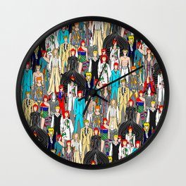 Bowie-A-Thon Wall Clock
