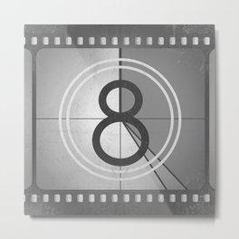 Countdown Film Metal Print