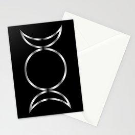 Triple Goddess Symbol Stationery Cards