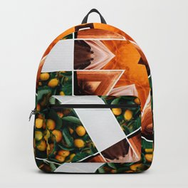 in the orange groves Backpack