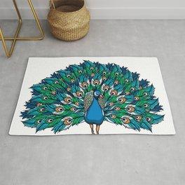 Strut your stuff ( peacock) Rug