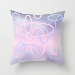 design in pastel tones -3- Deko-Kissen