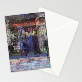 tethered or projected from an initial grab impulse Stationery Cards