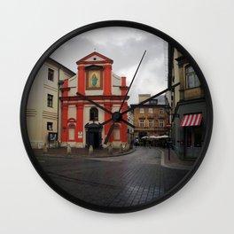Poland 3 Wall Clock