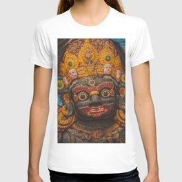 Temples and Architecture of Kathmandu City, Nepal 002 T-shirt
