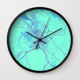 Launceston - Australia Galaxy City Map Wall Clock