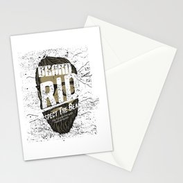 Be Strong And Courageous Retro Stationery Cards