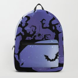 Halloween Town Vibes Backpack