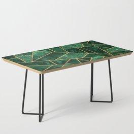 Deep Emerald Coffee Table