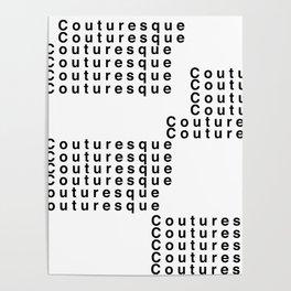 Couturesque Logo - Multi Poster
