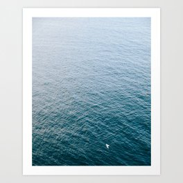 Serenity At Sea Art Print