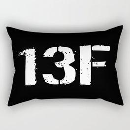 13F Fire Support Specialist Rectangular Pillow