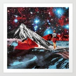 Bright stars Art Print