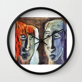 Mirroring - Retrospect Wall Clock