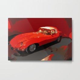 Vintage 1969 Jaguar  | Nadia Bonello Metal Print