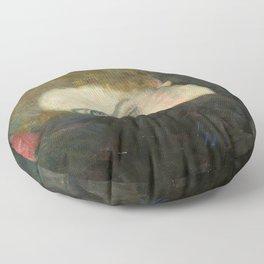 Gustav Klimt – Dame mit Muff Floor Pillow